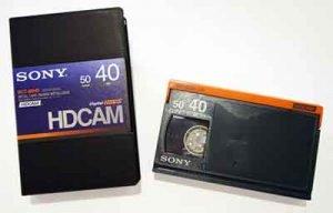 hdcam kaset