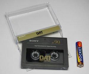 DAT kaset aktarma, bilgisayara kayıt