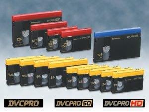 DvcPro HD Kaset Kayıt ve Aktarımı
